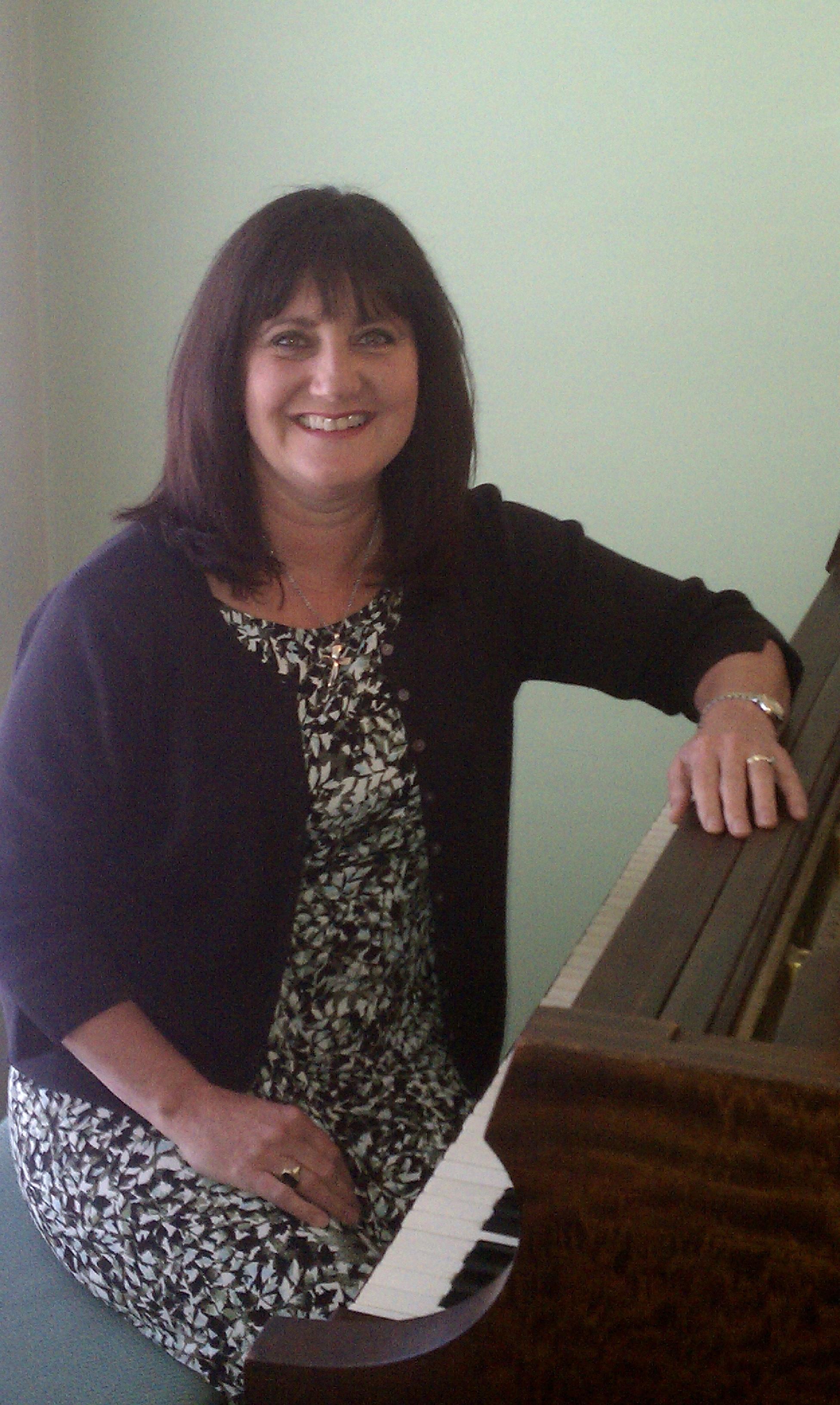 Dale at Piano